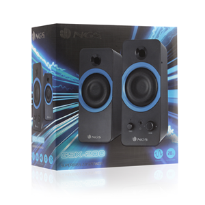 NGS GAMING SPEAKERS GSX-200