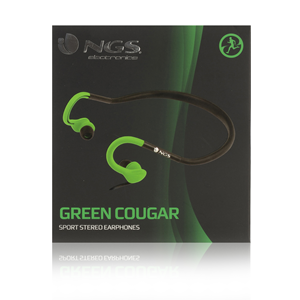 NGS SPORT HEADPHONE COUGAR GREEN
