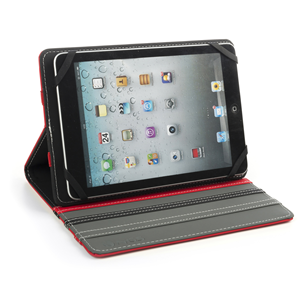 "NGS UNIVERSAL 7"" TABLET CASE  DUO RED"