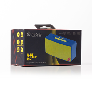 NGS BLUETOOTH SPEAKER ROLLER JOY BLUE
