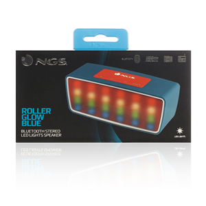 NGS PORTABLE BT SPEAKER ROLLER GLOW BLUE