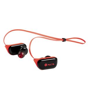 NGS SPORT EARPHONES ARTICA RANGER RED