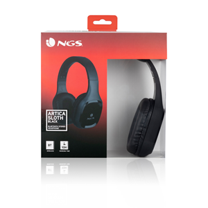 NGS BT HEADPHONE ARTICA SLOTH BLACK