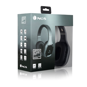 NGS BLUETOOTH HEADPHONE ARTICA SLOTH GRAY