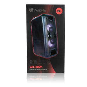 NGS PREMIUM PORTABLE SPEAKER WILDJAM