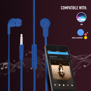 NGS WIRED STEREO EARPHONE CROSS SKIP BLUE