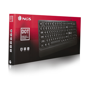 NGS WIRED KEYBOARD DOT