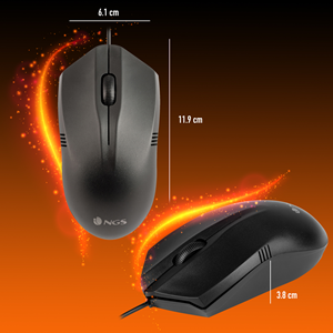 NGS WIRED MOUSE EASY BETTA