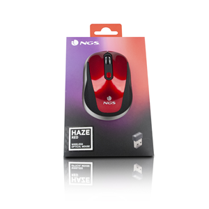 NGS WIRELESS MOUSE HAZE RED