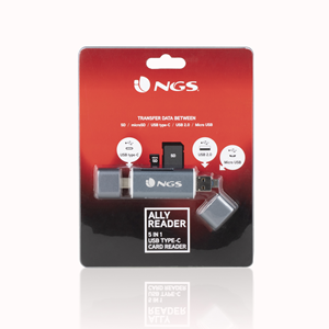 NGS 5 IN 1 TYPE-C ALLY READER