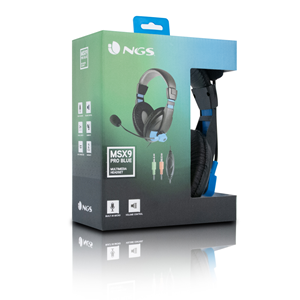NGS HEADSET MSX9 PRO BLUE