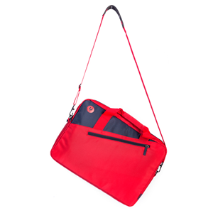 MONRAY LAPTOP BAG GINGER RED