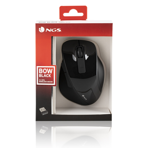 NGS WIRELESS MOUSE BOW BLACK