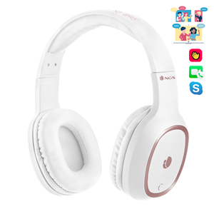 NGS BT HEADPHONE ARTICA PRIDE WHITE