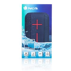 NGS WATERRESISTANT SPEAKER ROLLER COASTER BLUE