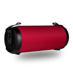 NGS PORTABLE BT SPEAKER ROLLER TEMPO RED