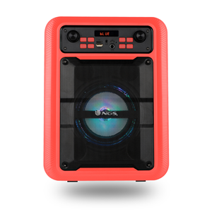 NGS PORTABLE BT SPEAKER ROLLER LINGO RED