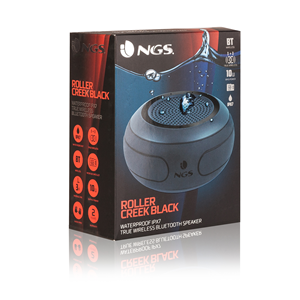 NGS WATERPROOF SPEAKER ROLLER CREEK BLACK