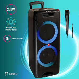 NGS PREMIUM PORTABLE SPEAKER WILD JUNGLE 2