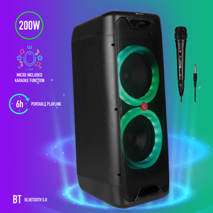 NGS PREMIUM PORTABLE SPEAKER WILD JUNGLE 1