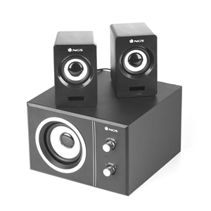 NGS MULTIMEDIA 2.1 SPEAKER SUGAR