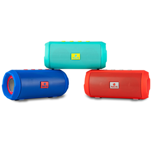 NGS BLUETOOTH SPEAKER ROLLER TUMBLER RED