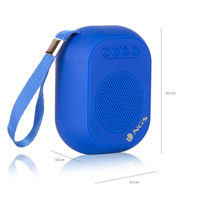NGS PORTABLE BT SPEAKER ROLLER DICE BLUE