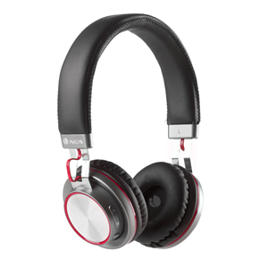 NGS BT HEADPHONE ARTICA PATROL RED