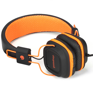 NGS DJ HEADPHONE GUMDROP ORANGE