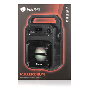 NGS PORTABLE BT SPEAKER ROLLER DRUM