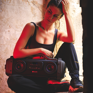 NGS PREMIUM PORTABLE BOOMBOX STREET BREAKER
