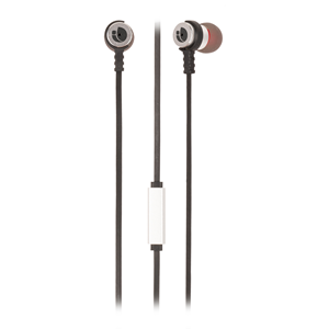NGS WIRED STEREO EARPHONE CROSS RALLY SILVER