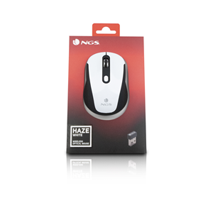 NGS WIRELESS MOUSE HAZE WHITE