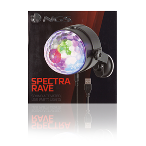 NGS USB PARTY LIGHTS SPECTRA RAVE