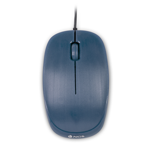 NGS WIRED MOUSE FLAME BLUE