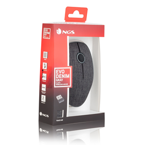 NGS WIRELESS MOUSE EVO DENIM GRAY