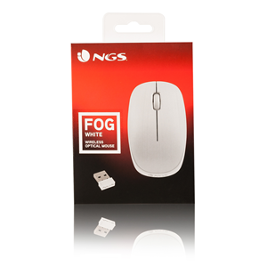 NGS WIRELESS MOUSE FOG WHITE