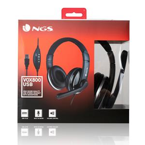 NGS USB HEADSET VOX800 USB