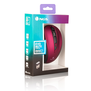 NGS WIRELESS MOUSE EVO MUTE PURPLE