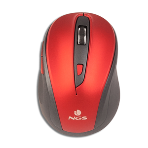 NGS WIRELESS MOUSE EVO MUTE RED