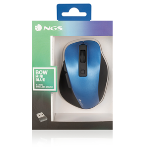 NGS WIRELESS MOUSE BOW MINI BLUE