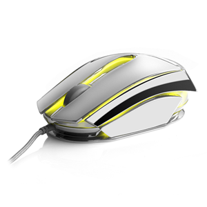 NGS WIRED MOUSE ICE