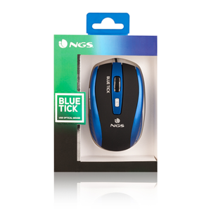 NGS WIRED MOUSE TICK BLUE