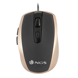 NGS WIRED MOUSE TICK GOLD
