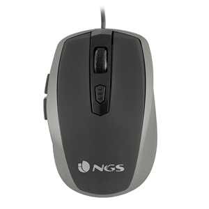 NGS WIRED MOUSE TICK SILVER
