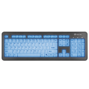 NGS WIRED KEYBOARD BLUELAGOON
