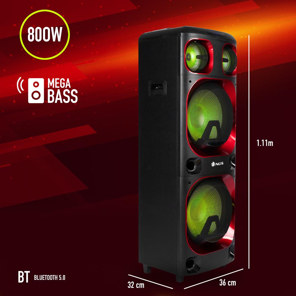 Colunas Ngs Premium Speaker Wild Ska 2 Ngs